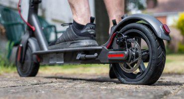 Elektrické kolobežky pneumatiky